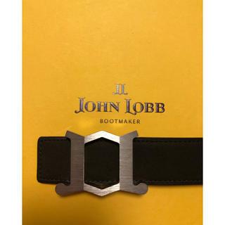 ジョンロブ(JOHN LOBB)のジョンロブJohn lobb スエードベルト ブラウン(ベルト)