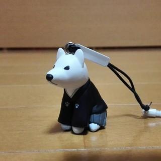 ソフトバンク(Softbank)のお父さん 紋付き袴姿のスマホストラップ新品未使用(ストラップ/イヤホンジャック)
