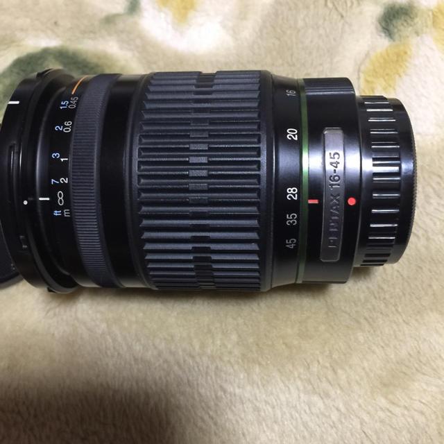 PENTAX(ペンタックス)のSMC PENTAX-DA 16-45mm/f4 レンズ スマホ/家電/カメラのカメラ(デジタル一眼)の商品写真