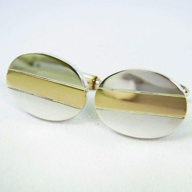 Tiffany & Co.(ティファニー)のティファニー 925/14KT カフス [g95-7] メンズのアクセサリー(その他)の商品写真