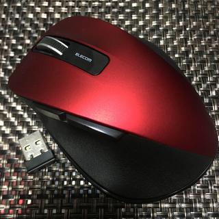エレコム(ELECOM)のELECOMエレコム エレコム無線機能付きマウスM-XGM10DBSRD  (PC周辺機器)