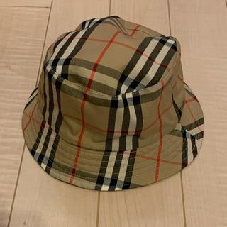 BURBERRY - バーバリー 帽子 キッズ レディース リバーシブル