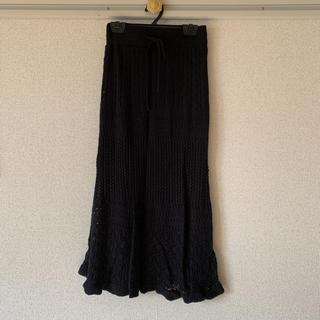 しまむら - 透かし編みニットスカート