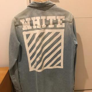 OFF-WHITE - off-white デニムジャケット