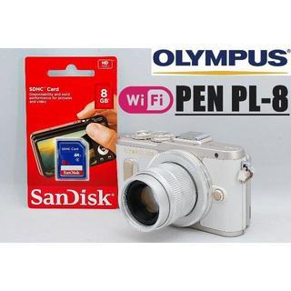 OLYMPUS - Wi-Fi搭載♪人気のホワイトボディ♪ オリンパス PEN PL-8