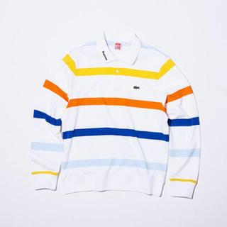 Supreme - Supreme× LACOSTE Long Sleeve Jersey Polo