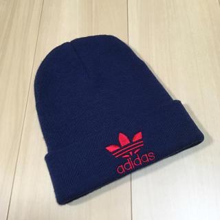 Original - アディダス オリジナルス 刺繍ニット帽