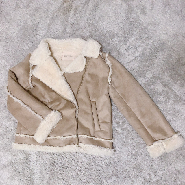 one after another NICE CLAUP(ワンアフターアナザーナイスクラップ)のムートンコート レディースのジャケット/アウター(ムートンコート)の商品写真