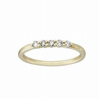 アーカー(AHKAH)のアーカーのエメピンキーダイヤモンドリング   k18 (リング(指輪))