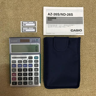 CASIO - CASIO 関数電卓  AZ-26S カシオ