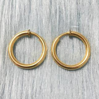 Lochie - ヴィンテージ メタルフープイヤリング