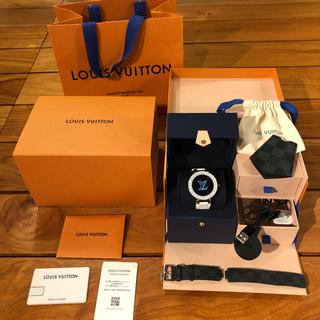 LOUIS VUITTON - LOUIS VUITTON ルイヴィトン タンブール ホライゾン 腕時計 正規品