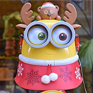 ミニオン - ボブ クリスマス ポップコーンバケツ