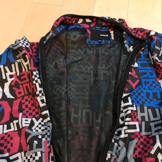Hurley(ハーレー)の値下!Hurley ハーレー 140 ウィンドブレーカー  キッズ/ベビー/マタニティのキッズ服 男の子用(90cm~)(ジャケット/上着)の商品写真