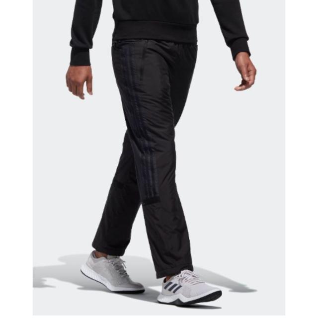 adidas(アディダス)の新品☆アディダス 中綿入りの暖パン  ウインドブレーカー パンツ スポーツ/アウトドアのトレーニング/エクササイズ(トレーニング用品)の商品写真