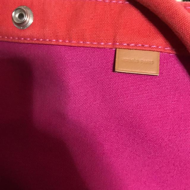 Hermes(エルメス)のエルメス サックカバGM ポーチ付き ピンク ハンドバッグ カンヌルイヴィトン  レディースのバッグ(ハンドバッグ)の商品写真