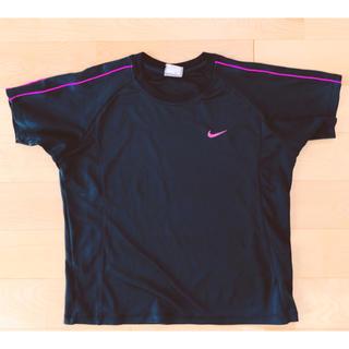 NIKE - レディース NIKE ナイキ Tシャツ ジムウェア ランニング 黒 150