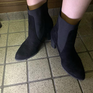 ジーユー(GU)のGU サイドゴアブーツ Lサイズ24cm.24.5cm(ブーツ)