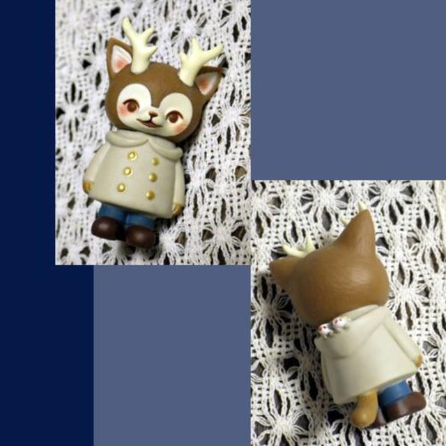 MEDICOM TOY(メディコムトイ)のMORRIS つのねこ *C* エンタメ/ホビーのおもちゃ/ぬいぐるみ(キャラクターグッズ)の商品写真