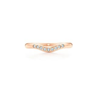 ティファニー(Tiffany & Co.)のTIFFANY&Co. リング エレサ・ペレッティ 18Kローズゴールド(リング(指輪))