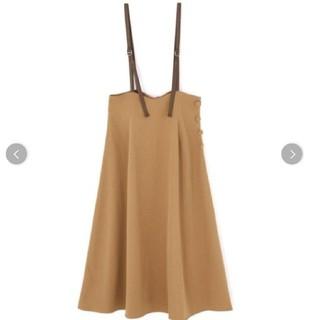PROPORTION BODY DRESSING - ストレッチツイルジャンパースカート