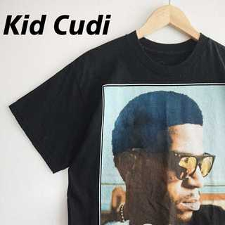 717 希少 Kid Cudi RAP TEE ビッグプリント Tシャツ