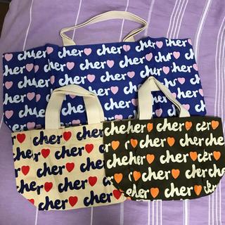 Cher - 新品 cher トートバッグ  3点まとめて