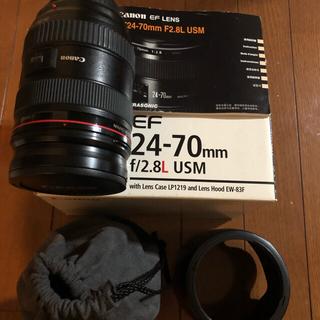 Canon - canon ef 24-70mm f2.8l USM レンズ 最安 美品