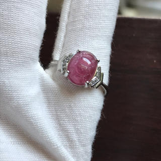 【送料無料】天然石AAAトルマリンリング 指輪(リング(指輪))