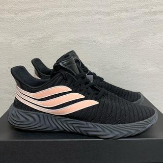 アディダス(adidas)の新品アディダス オリジナルス ソバコフ コアブラック/ピンク BB7674(スニーカー)
