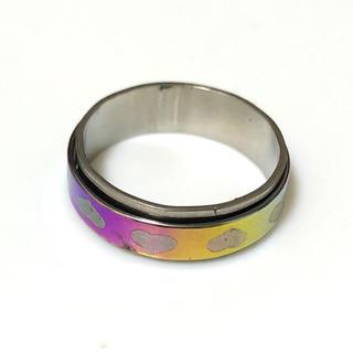 同時購入で300円ステンレス指輪 ハートたくさん(リング(指輪))