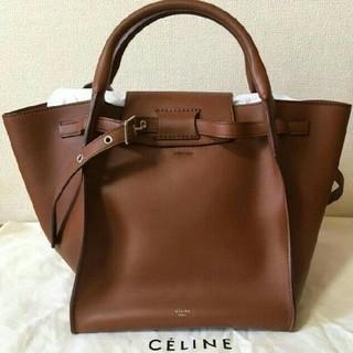 celine - CELINEセリーヌビッグバッグ タン スムースカーフスキン