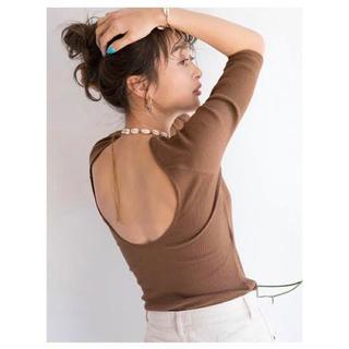 シールームリン(SeaRoomlynn)のsearoomlynn パットinハーフカットロンT(Tシャツ(長袖/七分))
