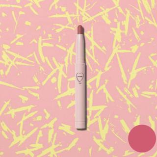 WHOMEE フーミー マットリップクレヨン カラー W.W 血色ピンク (口紅)