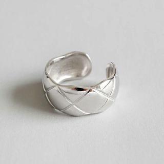 ひし形シルバーリング 246 #シルバー(リング(指輪))