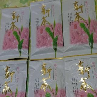 新茶 静岡県産 深むし茶 100g6袋