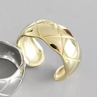 ひし形シルバーリング 246 #ゴールド(リング(指輪))