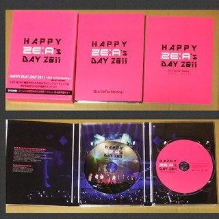 ZE:A DVD 「 HAPPY ZE:A's DAY 2011 」