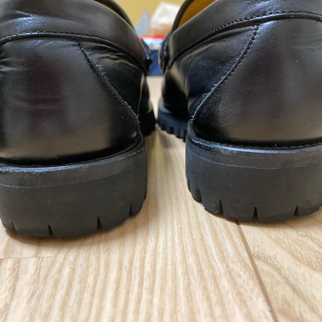 Gucci(グッチ)のグッチ ウェブ ホースビット レザーローファー メンズの靴/シューズ(スリッポン/モカシン)の商品写真