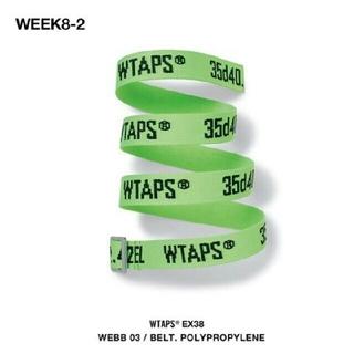 ダブルタップス(W)taps)のWTAPS WEBB 03 BELT.POLYPROPYLENE ベルト(ベルト)