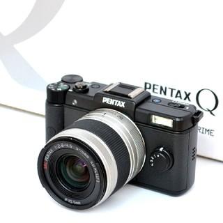 PENTAX - ❤PENTAX❤手のひらサイズ❤超大容量32GBの新品SD付き❤Qレンズセット