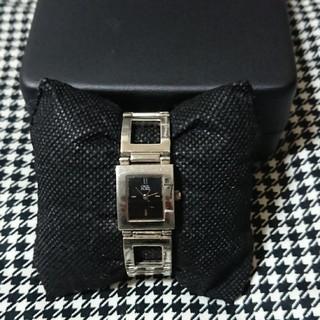 セシルマクビー(CECIL McBEE)の【CECIL McBEE】ステンレスシルバー電池切れ レディース 腕時計 箱なし(腕時計)