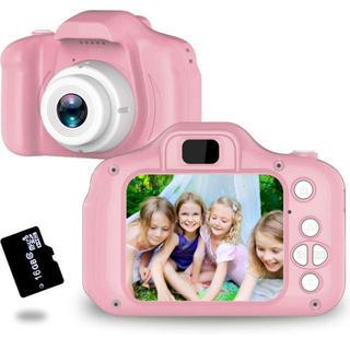 トイカメラ TANOKI 子供用カメラ 800万画素 軽量 16GB