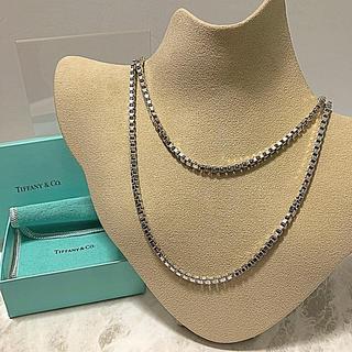Tiffany & Co. - Tiffanyベネチアンロングネックレス90㎝