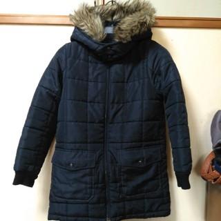 ジーユー(GU)のキッズダウンコート風中綿コート140(コート)