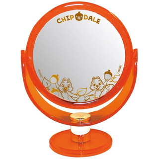 Disney - 即購入OK【新品・未使用】ディズニー 鏡 卓上用 両面ミラー 裏面 拡大鏡 チッ