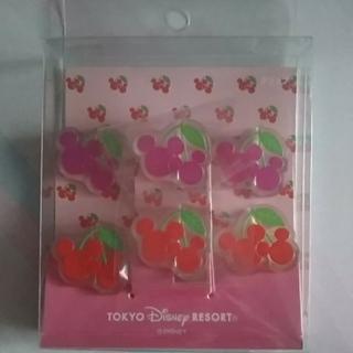 Disney - ミッキーマウス クリップセット 6個入り