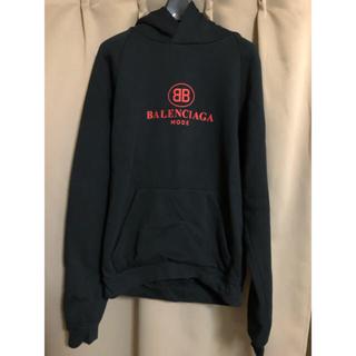 Balenciaga - balenciaga BB mode logo hoodie black XL