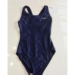 新品 イグニオ スクール水着 女の子 130 紺色(水着)
