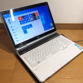 爆速Core i7 Blu-ray NEC Lavie Windows10